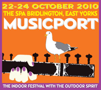 Poster for Musicport 2010